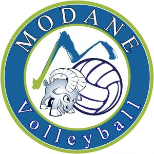 Logo club Modane volleyball