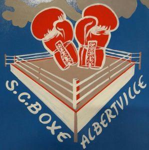 Logo Sporting Club Boxe Albertville