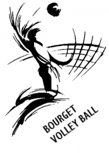 Logo club Bourget du Lac Volley Ball (BVB)