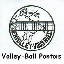 Logo club Volley Pont de Beauvoisin