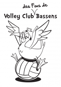 Logo club Volley Club de Bassens