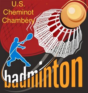 Logo club USCC badminton