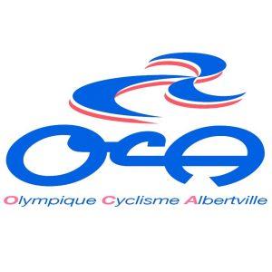 Logo club Olympique Cyclisme Albertville OCA