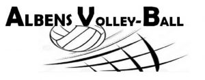 Logo club Albens Volley Ball